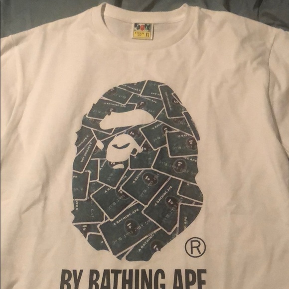 2a078cbc Bape Shirts | Exclusive Credit Card Tee From Japan | Poshmark